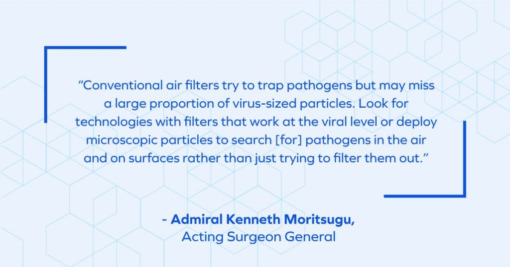 Quote from Admiral Kenneth Moritsugu, Acting Surgeon General