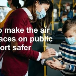 Make the air & surfaces on public transport safer